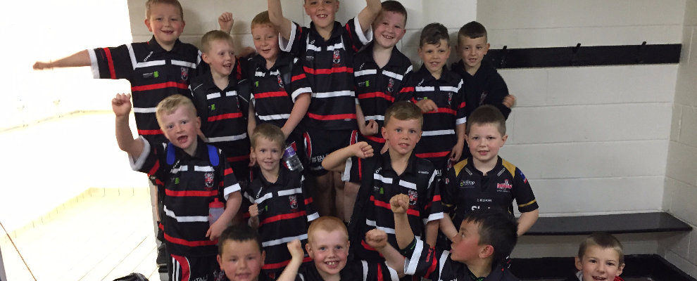 East Under 7s win derby game