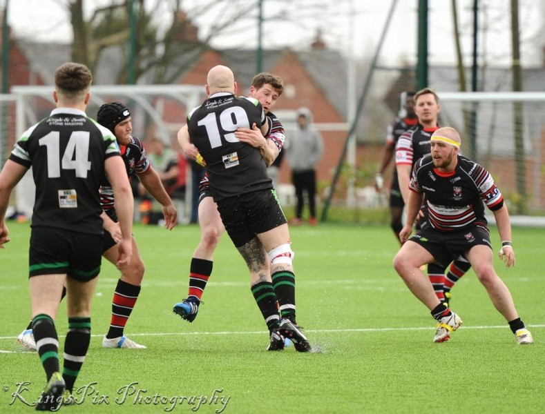 Rewatch East's tries from Ulverston game
